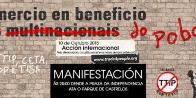 Galiza contra os Tratados de Libre Comercio 10/10/15
